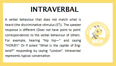 Intraverbal2
